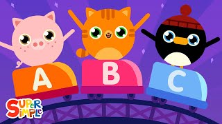 The Alphabet Swing | ABC Song for Kids | Super Simple Songs
