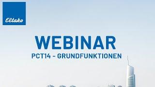 Webinar I Grundfunktionen der Eltako PCT14 I German
