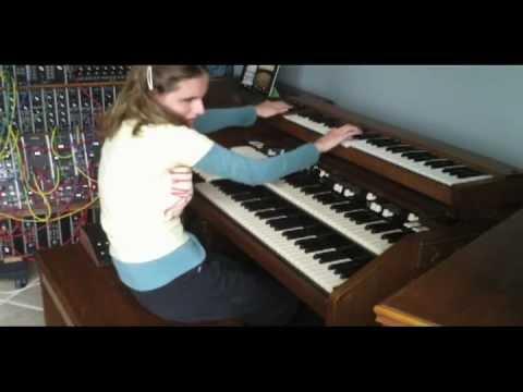 Rachel Flowers on the Modular Moog - intro by Keith Emerson