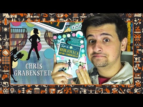 BOOKTALK: FUGA DA BIBLIOTECA DO SR. LEMONCELLO | Geek's Anatomy