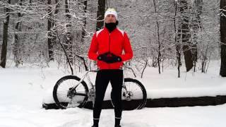 Как правильно одеваться велосипедисту зимой