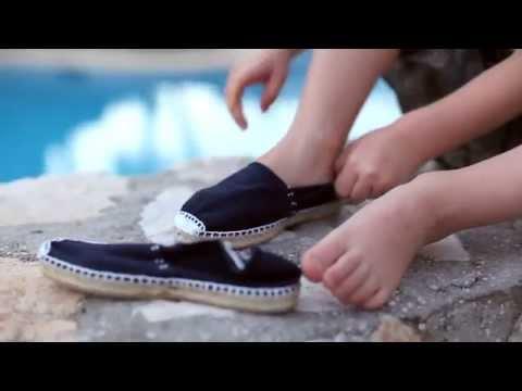 Alpargatas para Niños Espardeñas con elástico - Zapatos Online Pisamonas