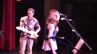 "Sonya Shoup sings ""Hallelujah""; Manistee Spring and All Music Festival; w/ Joshua Davis"