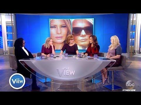 White House Conspiracy Theory:  Melania Body Double - The View