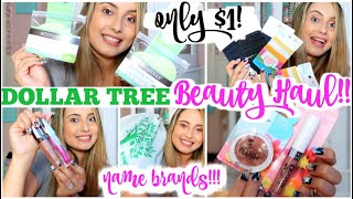 DOLLAR TREE HAUL | BEAUTY | NAME BRANDS ECOTOOLS, HARD CANDY COSMETICS & MORE! NEW ITEMS JULY 2020