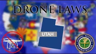 Where Can I Fly in Utah? - Every Drone Law 2019 - Salt Lake City, Provo (Episode 44)