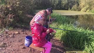 Ловля плотвы осенью в малых реках