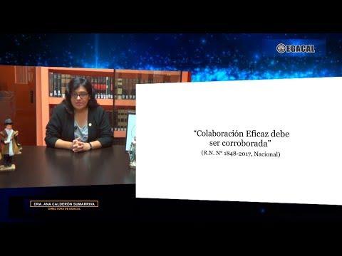 Colaboración eficaz debe ser corroborada - Luces Cámara Derecho 126