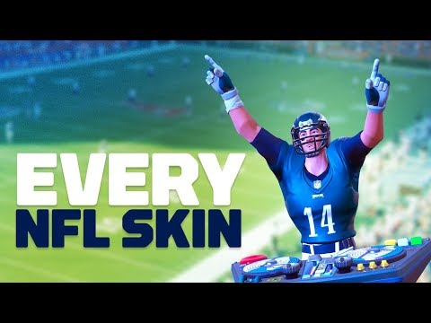 Fortnite: All 33 NFL Skins!