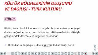 Eğitim Vadisi AYT Coğrafya 10.Föy İlk Kültür Merkezleri Konu Anlatım Videoları