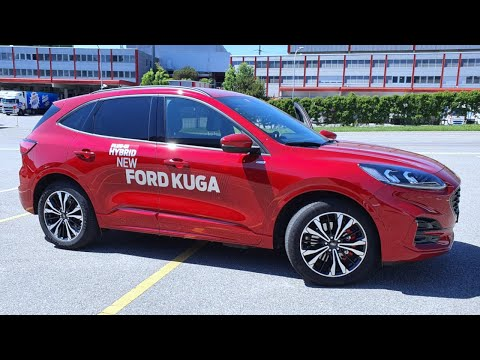 Test Drive New Ford KUGA ST Line Plug-in Hybrid 2020 POV