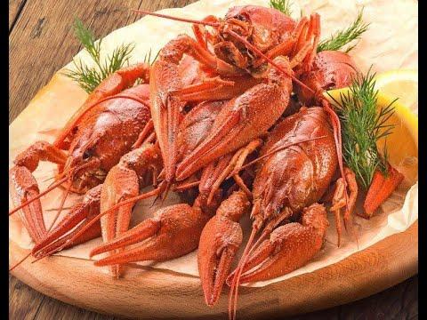 Раки речные вареные от Луча. Boiled river crayfish. 水煮小龙虾