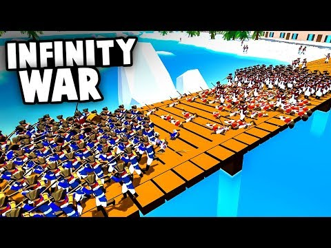 Spawning INFINITE UNITS! Massive BRIDGE BATTLE To Win The WAR! (Rise of Liberty Update Gameplay)