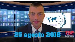 FSP news del 25 agosto 2018