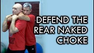 How to Defend a Rear Naked Choke with Stephan Kesting