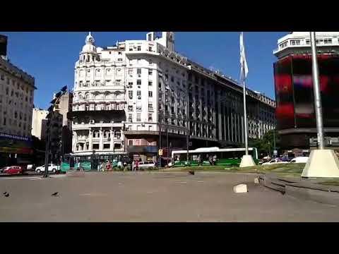Obelisco da 9 de Julho em Buenos Aires/ Argentina