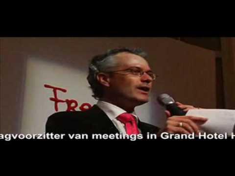 Patrick van Gils Presentator - Dagvoorzitter