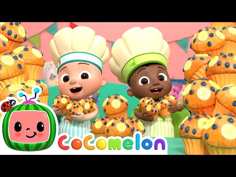 Muffin Man Song | CoComelon Nursery Rhymes & Kids Songs