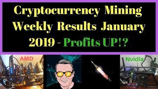 Cryptocurrency Mining Weekly Results January 2019 - Profits UP