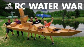 Largest RC Battleship VS RC Dive Bombers!
