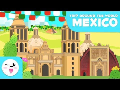 Mexico city – Trip Around the World – Children's educational video
