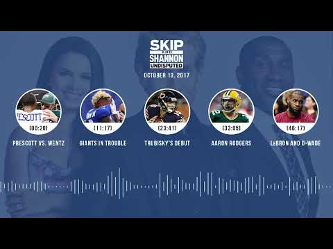 UNDISPUTED Audio Podcast (10.10.17) with Skip Bayless, Shannon Sharpe, Joy Taylor | UNDISPUTED