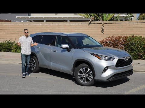 2020 Toyota Highlander Test Drive Video Review