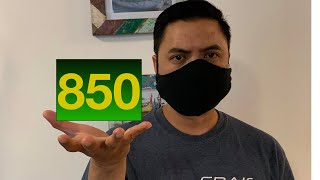 I have an 850 (PERFECT) Credit Score!