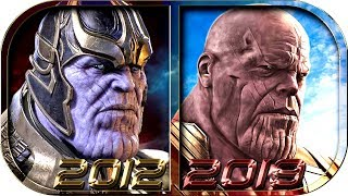 EVOLUTION Of THANOS In Movies Cartoons TV (1998-2019) 😡 Avengers Endgame Thanos Death Defeat Scene