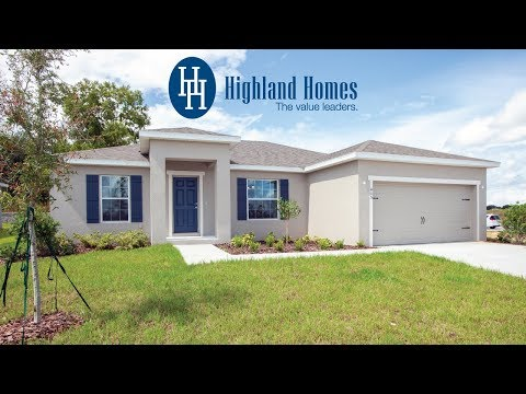 Chelsea home plan by Highland Homes - Florida New Homes for Sale