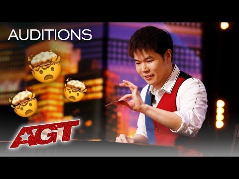 OMG! Eric Chien Could Be The Best Magician On The Internet And AGT! - America's Got Talent 2019 (видео)