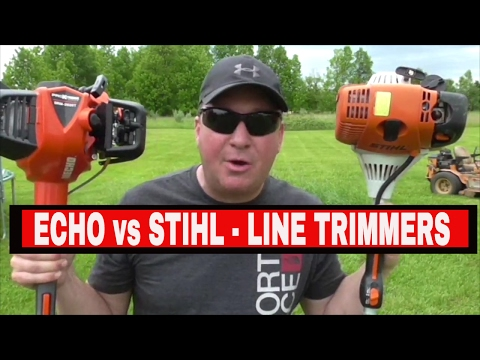 ECHO SRM-2620T vs STIHL FS90R LINE TRIMMER COMPARISON