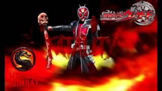 [MORTAL KOMBAT] [Kamen Rider Wizard] shabadubi fatality mix (mashup) TECHNO SYNDROME
