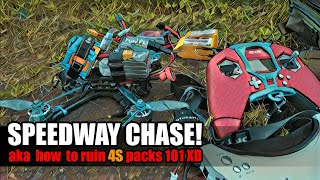 Speedway FPV chase