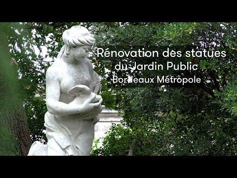 Rénovation des Statues du Jardin Public