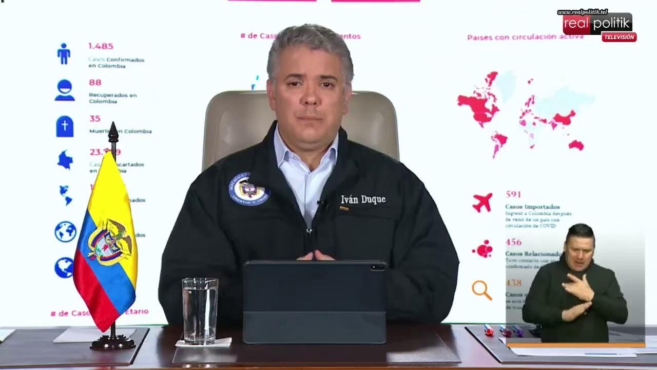 Colombia: Prevención y acción contra el avance del coronavirus COVID-19
