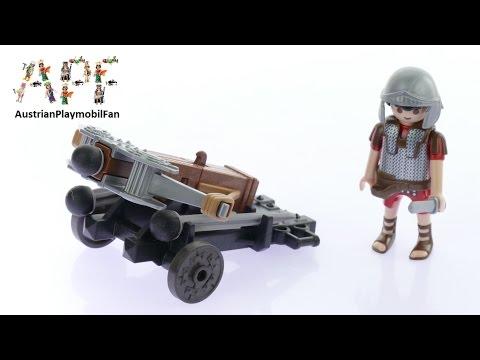 Vidéo PLAYMOBIL History 5392 : Légionnaire romain avec baliste