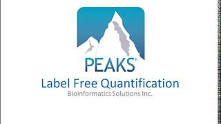 PEAKS Q Label Free Quantification Walkthrough