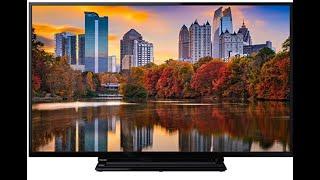 TV Toshiba  43V5863DA Smart TV -  W-Lan - Erstinbetriebnahme, Sender sortieren - 43 Zoll