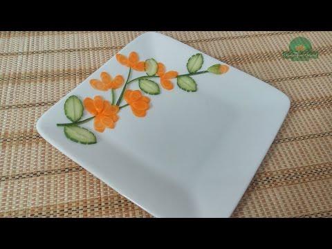 Vegetable Plate Decoration ( 02 )