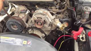 2006 Jeep Grand Cherokee Battery Not Charging.