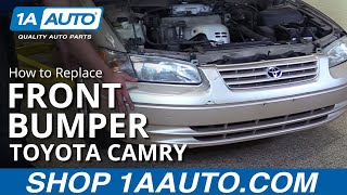 How to Remove Front Bumper on 97-01 Toyota Camry