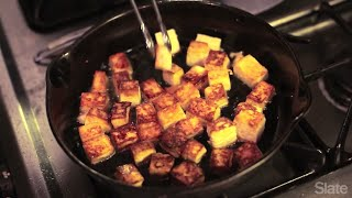 How to Make Tofu as Crispy as at Your Favorite Restaurant