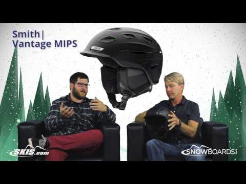 2018 Smith Vantage MIPS Helmet Overview by SkisDotCom and SnowboardsDotCom