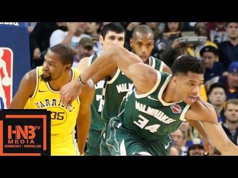 Golden State Warriors vs Milwaukee Bucks Full Game Highlights | 11.08.2018, NBA Season онлайн видео