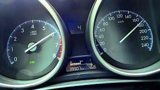 Mazda 3 MZR Acceleration 0-100 Test & Sound