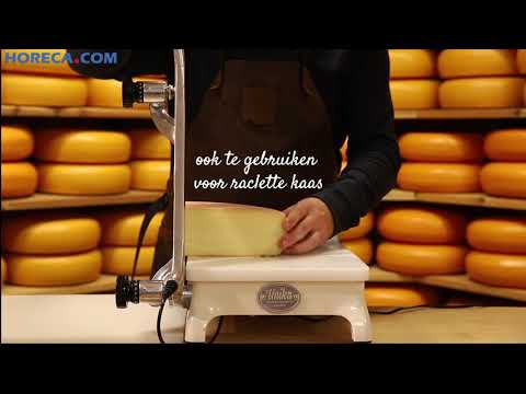 Video Boska Unika+ kaassnijder/kaashakker