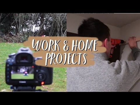 Work Projects & Home DIY Projects