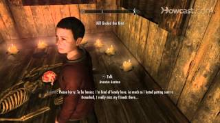 Skyrim Tip - How to Join the Dark Brotherhood