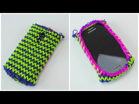 Loom Bands Handy Hülle Samsung S3 Mini / Rainbow Loom Smartphone Case Samsung Galaxy S III Mini